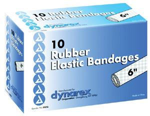 Rubber Elastic Bandages (Ace Bandages)