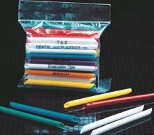 Evacuator Tips D-3 Assorted Colors