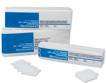 Richmond Nonwoven Cotton sponges