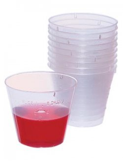 Medicine Cups - Clear (1oz) - 100ct