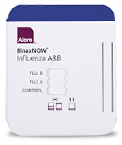 Alere BinaxNOW Influenza A&B Card