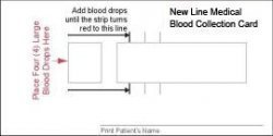 New Line Medical Blood Collection Kit - Lipoprotein(a) + Direct LDL + CRP