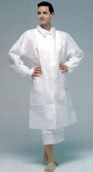 Lab Coat Full Length - White