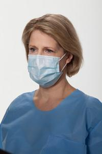 Kimberly Clark - Pleat-Style Earloop Mask (Blue)