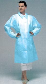 Lab Coat Full Length - Blue