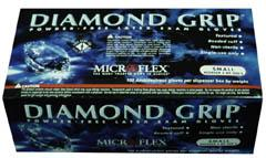 MICROFLEX Diamond Grip Textured Powder Free
