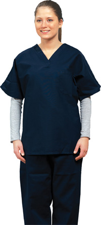 Silpure Protected Scrub Tops and Bottoms