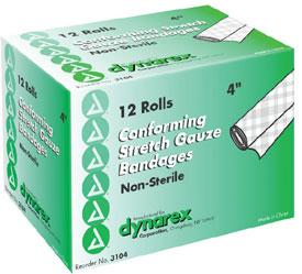Stretch Gauze Bandages, Non-Sterile